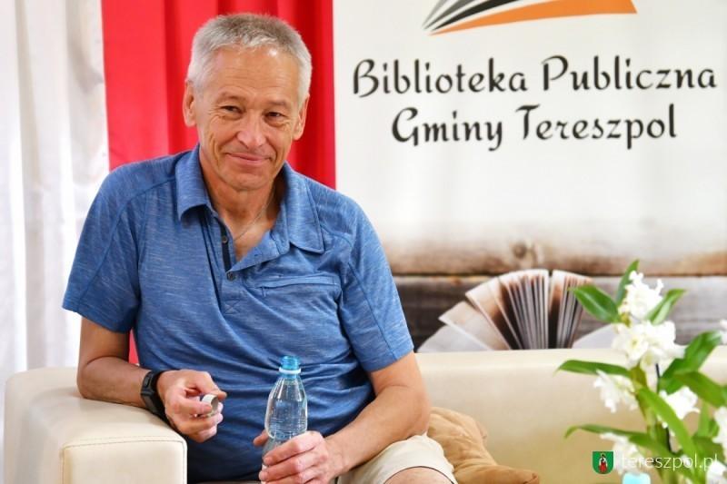 Piotr Pustelnik opasji do gór