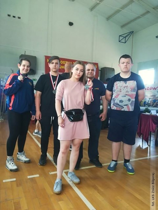 Reprezentacja Znicza na mistrzostwach juniorów