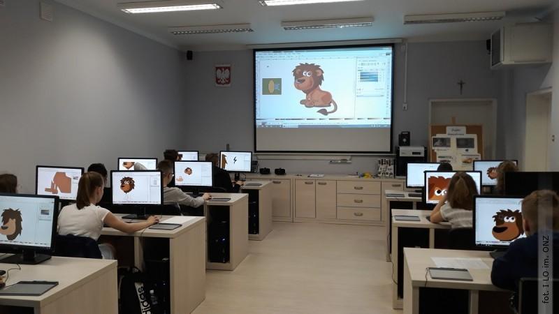 Warsztaty graficzne dla uczniów podstawówek