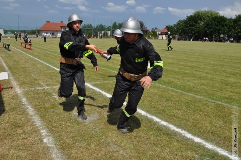 Strażacy ochotnicy rywalizowali