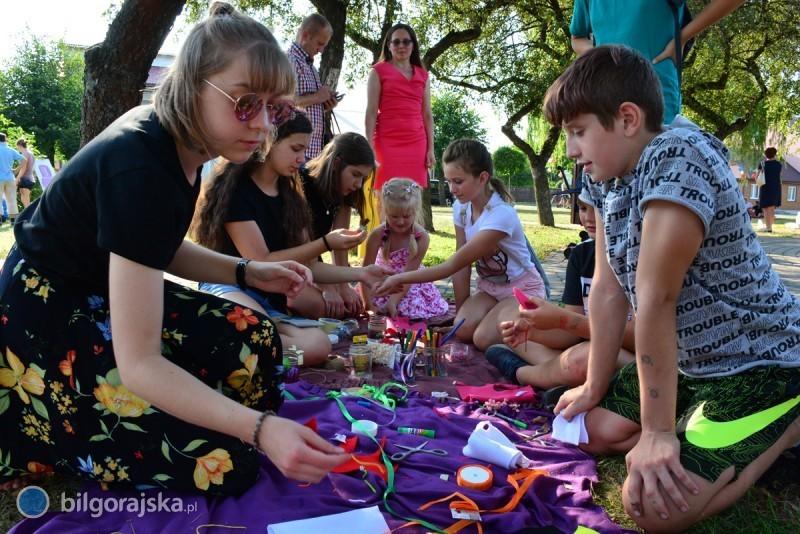 Piknik Sąsiedzki wparku miejskim