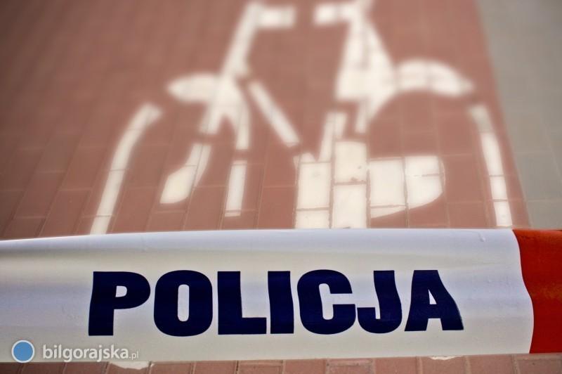 Zderzenie rowerzystów. Policja poszukuje jednego zuczestników wypadku