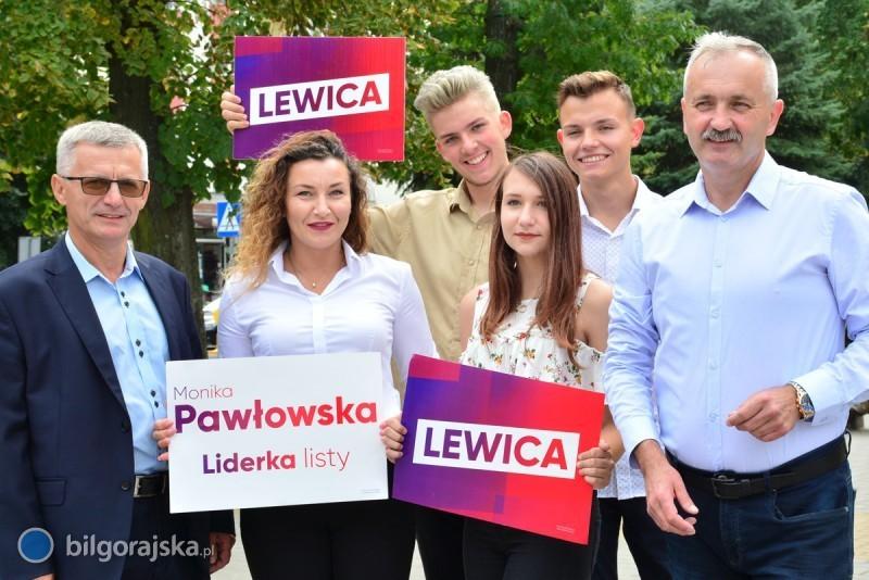 Kandydaci zjednoczonej lewicy wBiłgoraju