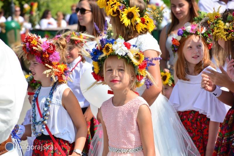 Rolnicy zgminy Łukowa świętowali zakończenie żniw