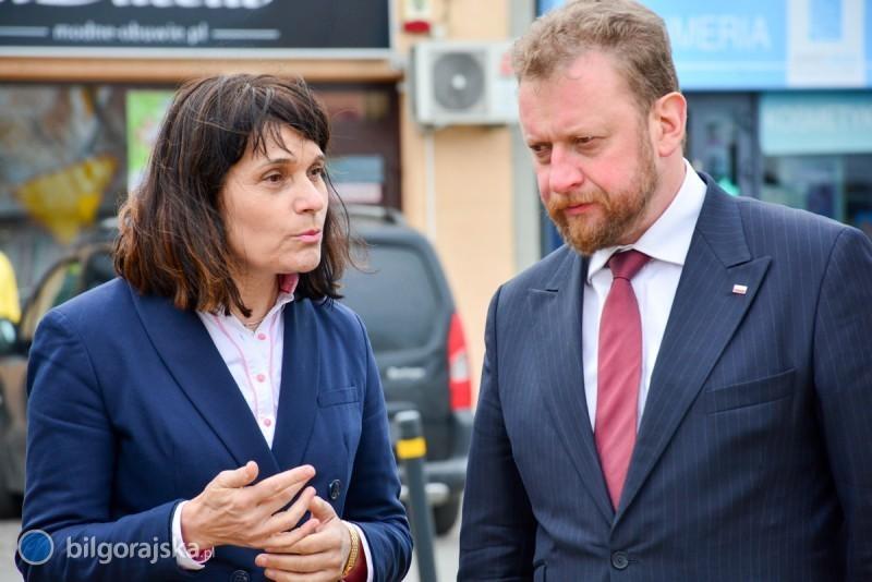 Minister zdrowia wBiłgoraju