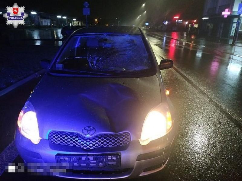 57-latek potrącony na przejściu