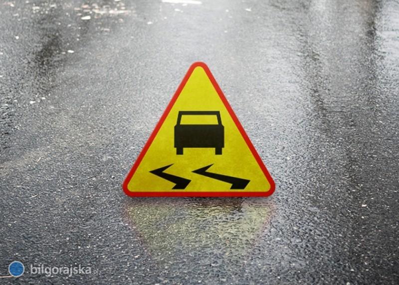 Uwaga ślisko na drogach