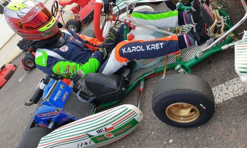 Karol Kręt po pierwszych treningach w Strawberry Racing