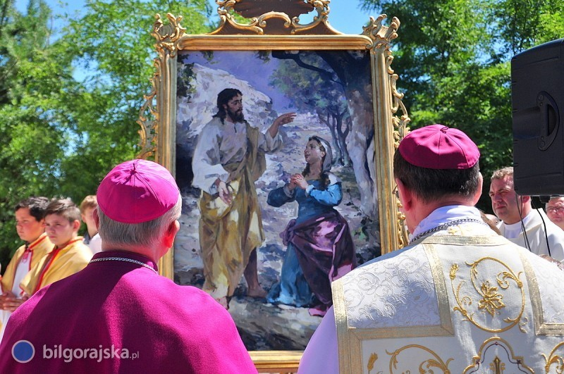 Dekret Papieża wsprawie ustanowienia patronki Biłgoraja