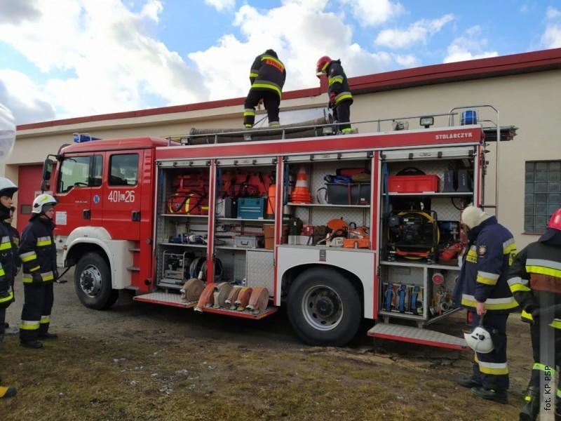 Ruszyły szkolenia dla strażaków ochotników zpowiatu biłgorajskiego