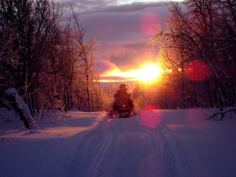 Podhale na skuterze śnieżnym
