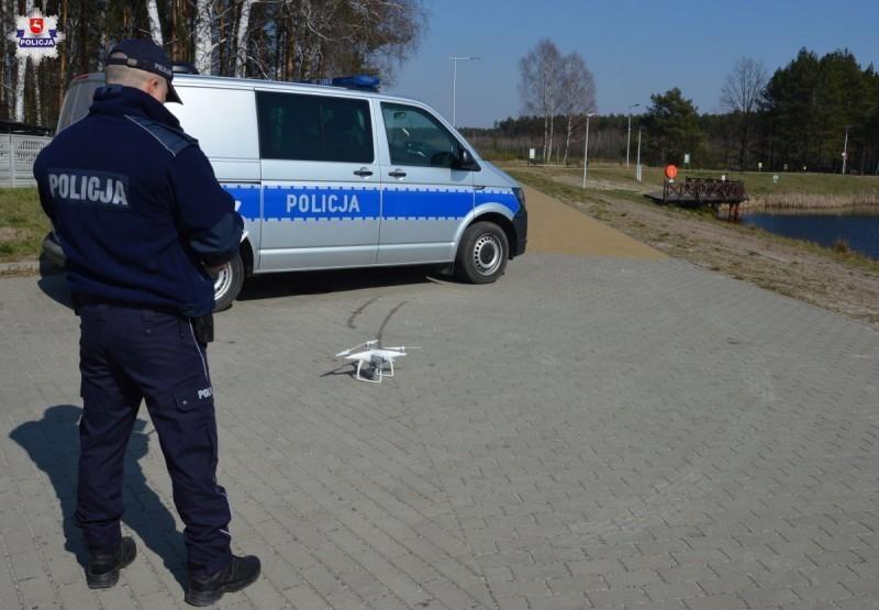 Drony wsparciem dla policjantów