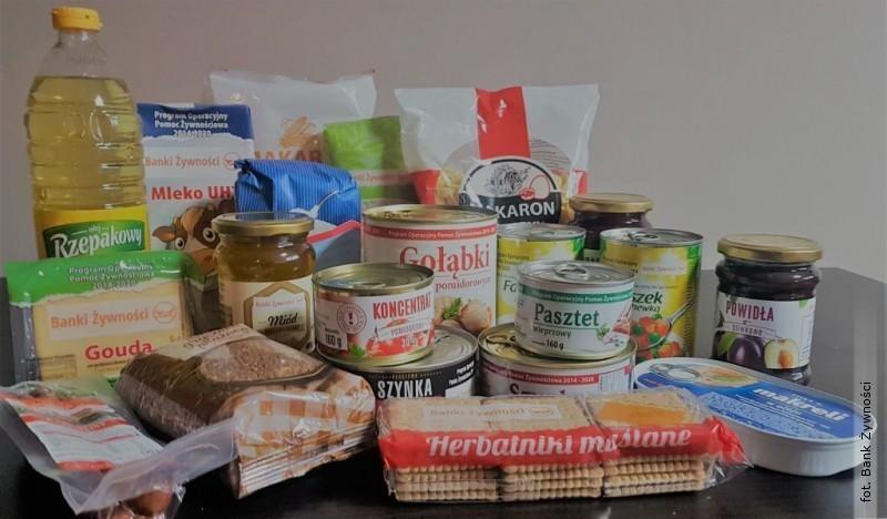 Przedświąteczna pomoc żywnościowa