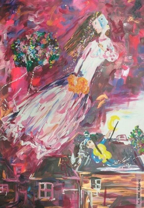 Błękitna podróż według Chagalla