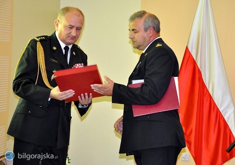 Zmiana na stanowisku komendanta biłgorajskiej straży pożarnej