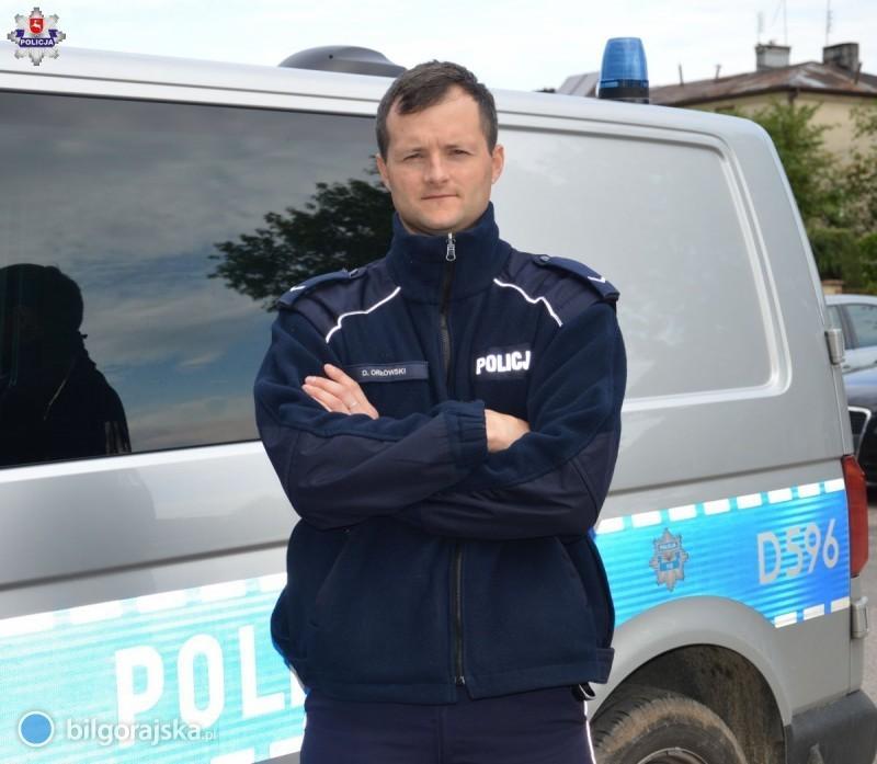 Policjant wczasie wolnym od służby zatrzymał złodzieja