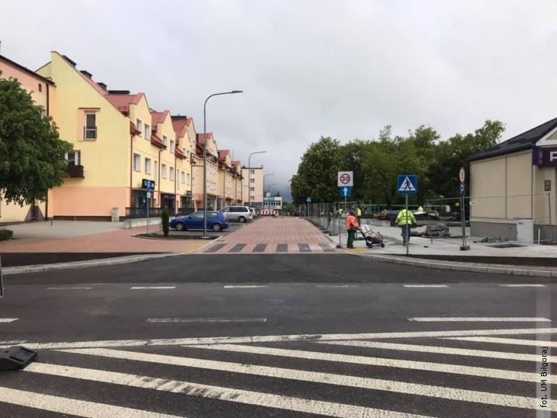 Mniej utrudnień na Placu Wolności