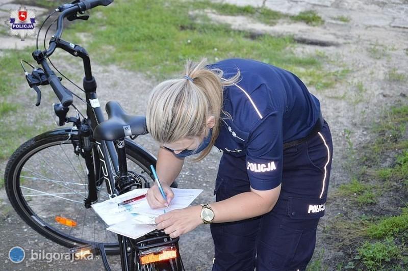 Trwa akcja znakowania rowerów