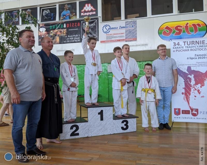 Sukces karateków zBiłgoraja