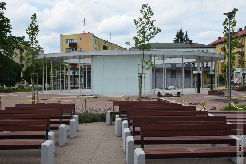 Odbyły się testy fontanny na Placu Wolności