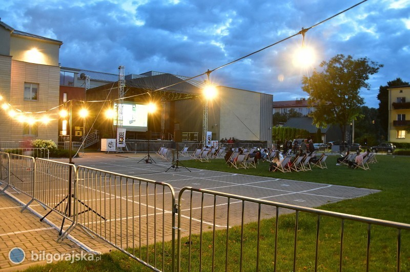 Letnie kino przy BCK