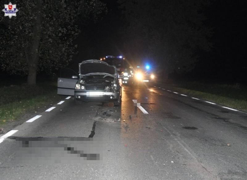 Wypadek na trasie Tarnogród-Luchów Górny
