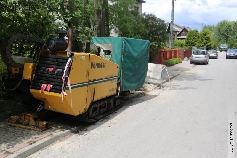 Budowa kanalizacji sanitarnej oraz sieci wodociągowej wgminie Tarnogród