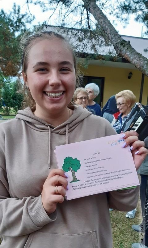 Uczennica ZSBiO laureatką programu stypendialnego Lider Wiedzy iOchrony Środowiska