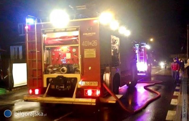 Dwa pożary domów. Paliło się wkuchni ikotłowni