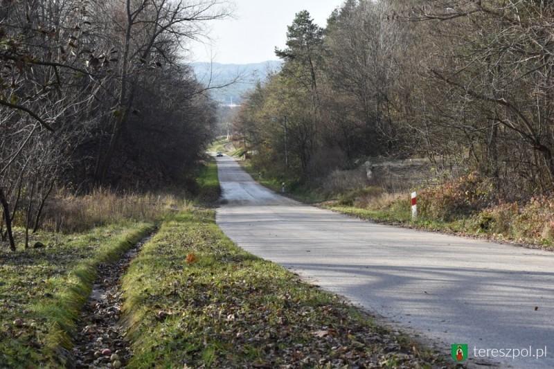 Przebudowa drogi wLipowcu
