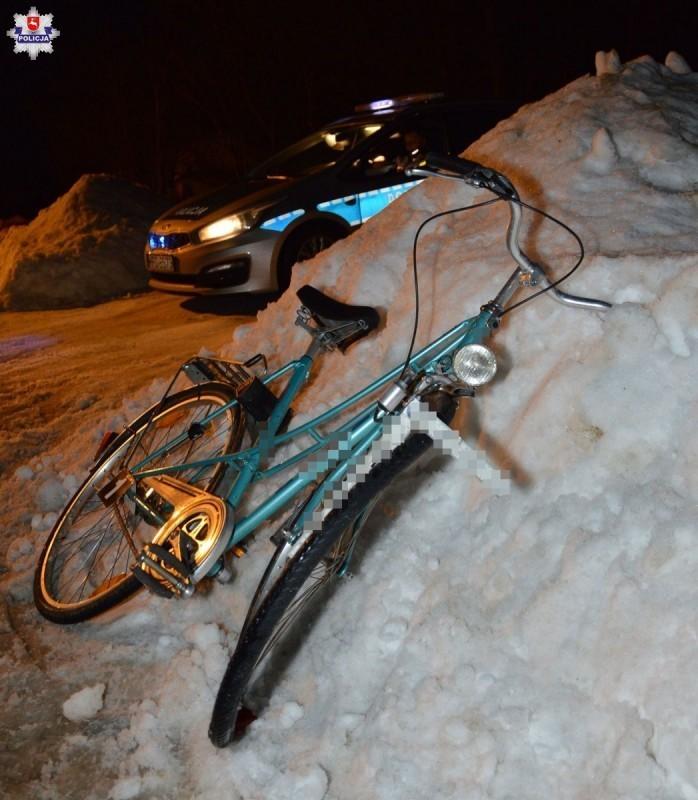 Potrącenie rowerzystki wKajetanówce. Interweniował śmigłowiec LPR