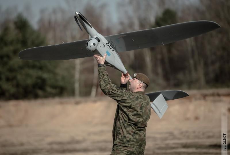 Operatorzy dronów zLubelskiej Brygady OT ćwiczyli na poligonie