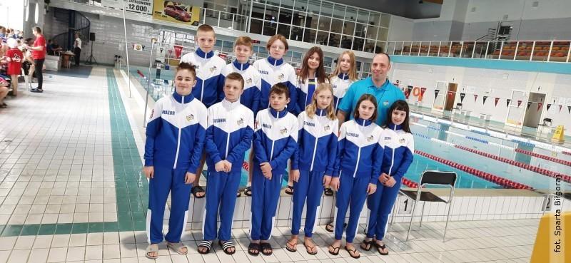 Świetny start biłgorajskich pływaków