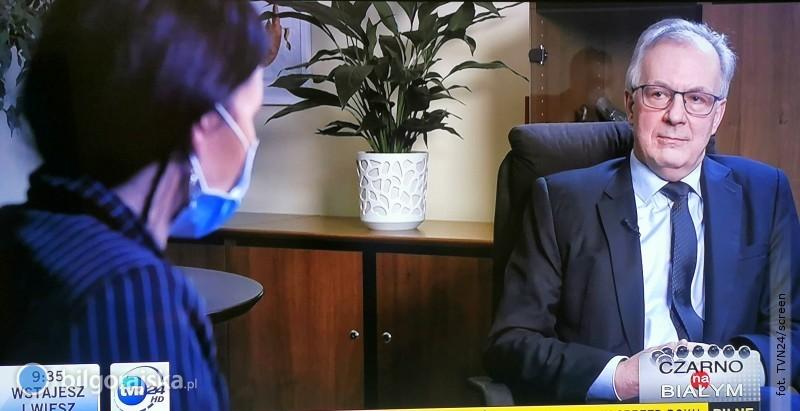 Biłgoraj nie dostał nawet złotówki zRFIL. Burmistrz opowiadał otym wTVN24
