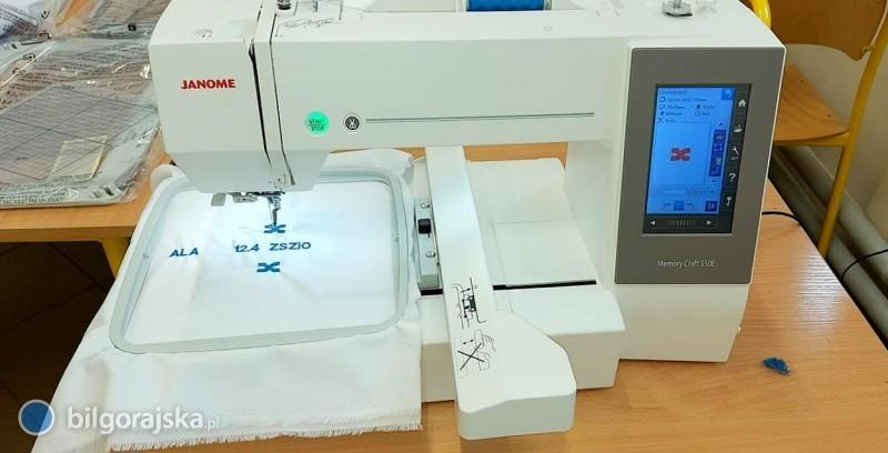 Nowe wyposażenie pracowni odzieżowej