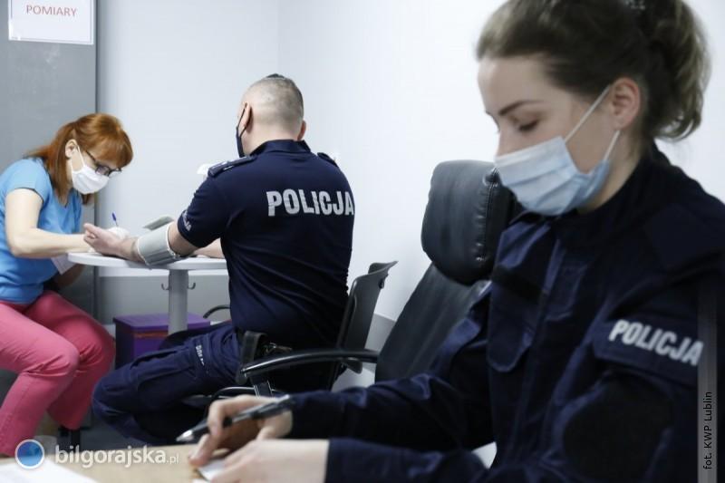 Rozpoczęły się szczepienia policjantów na Lubelszczyźnie