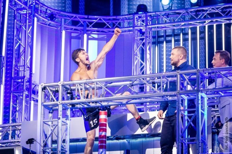 Piotr Lisiczka wfinale Ninja Warrior