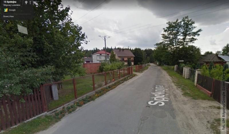Konsultacje społeczne dot. ulicy Spokojnej wBiłgoraju