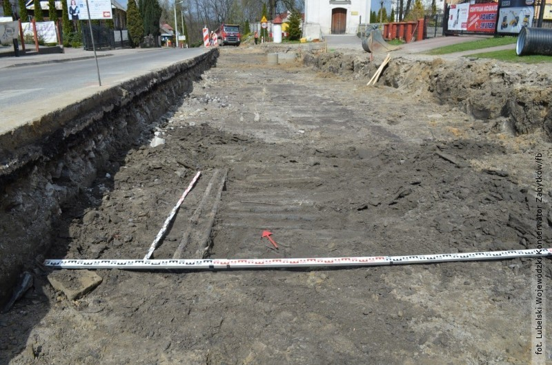 Odkrycia archeologiczne wTarnogrodzie