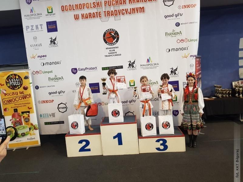Sukces Cypriana na Ogólnopolskim Turnieju Karate