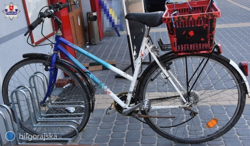 Potrącona rowerzystka trafiła do szpitala