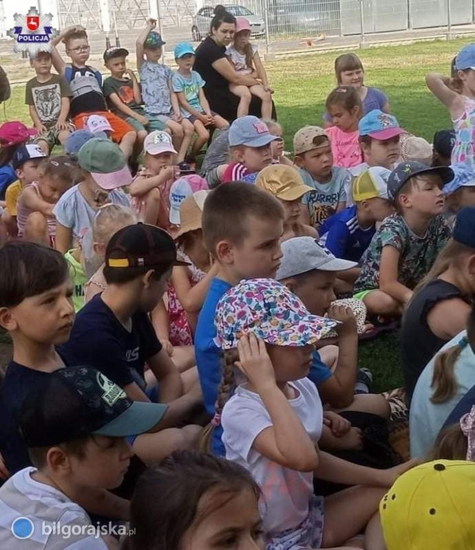 Policja odwiedziła przedszkolaków