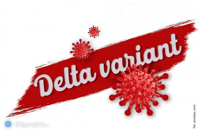 Na Lubelszczyźnie pojawił się pierwszy przypadek wariantu Delta