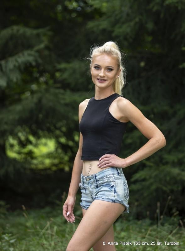 Reprezentantka powiatu wwyborach Miss Chmielaków