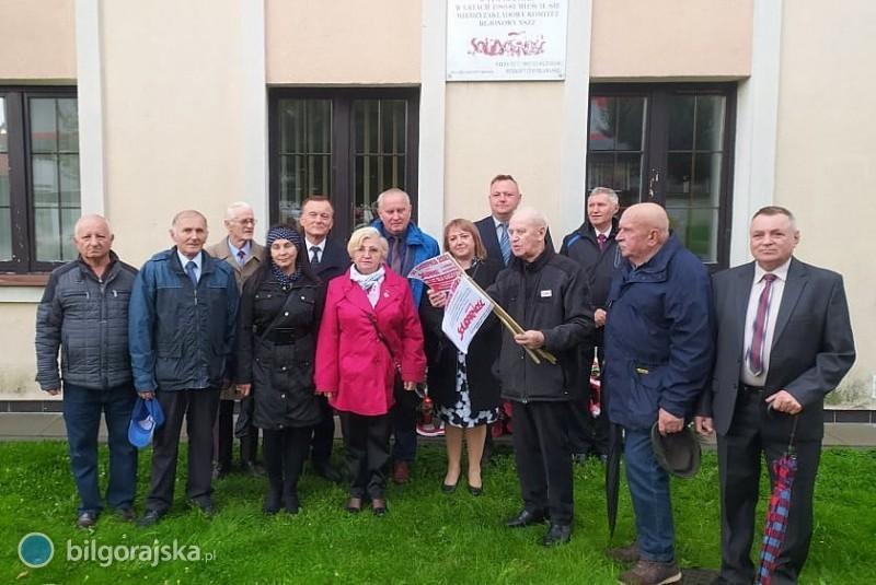 Biłgorajskie obchody 41. rocznicy podpisania porozumień sierpniowych