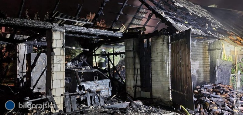 Ogromne straty po pożarze wGromadzie