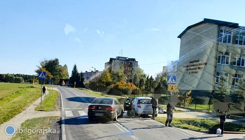 Zderzenie pojazdów wRóżańcu