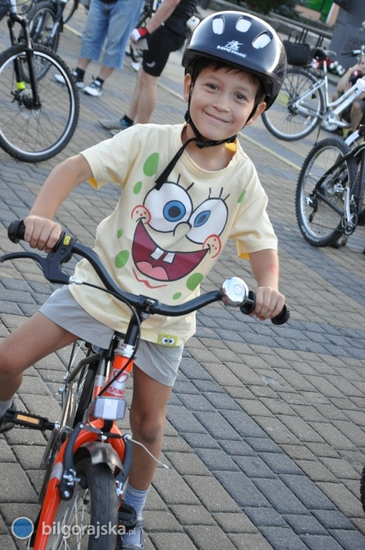 Rowerem przez miasto