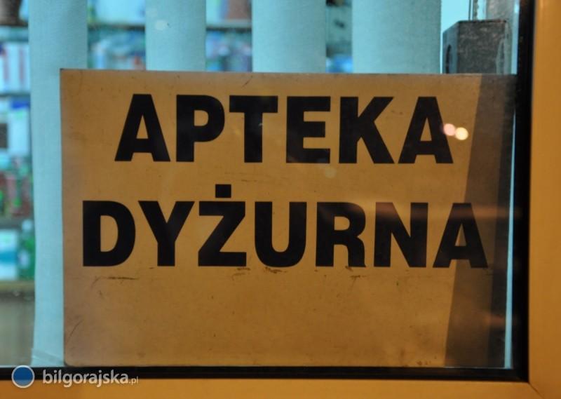 Dyżury biłgorajskich aptek na 2013 rok