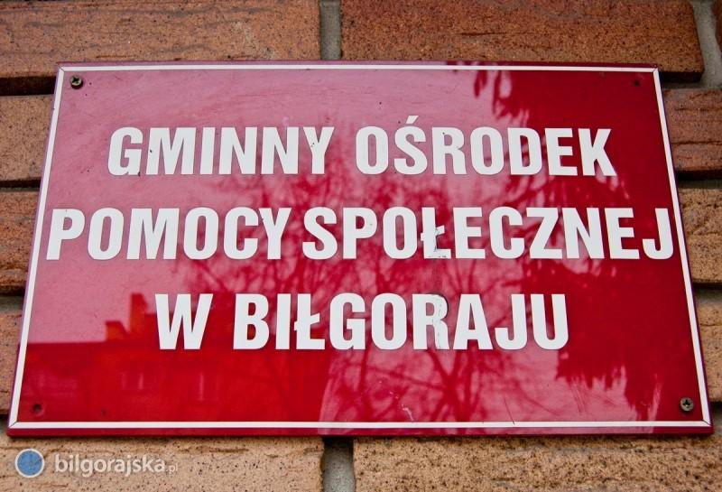 Pomoc społeczna wgminie Biłgoraj